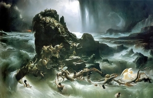 The Deluge by Francis Danby c. 1837