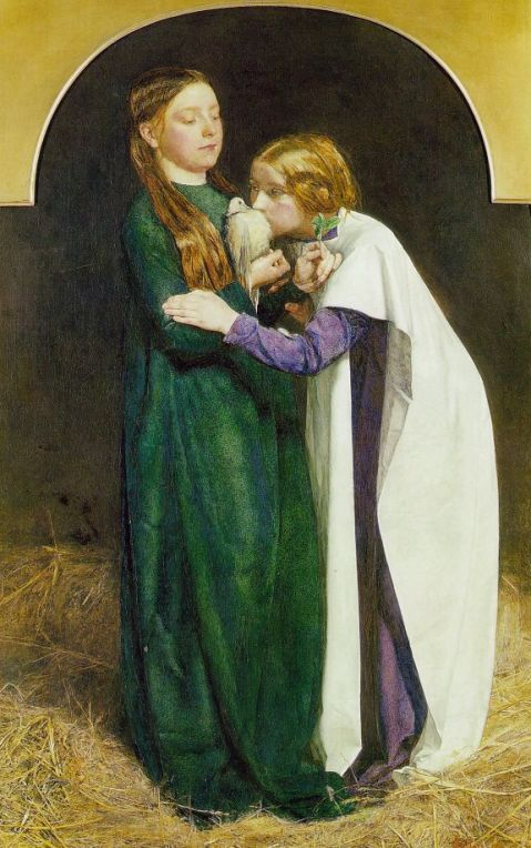 """""""The Return of the Dove to the Ark"""" by John Everett Millais (1851)"""