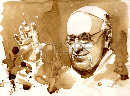 35359877-10-january-2015-portrait-of-his-holiness-pope-francis-picture-created-with-coffee