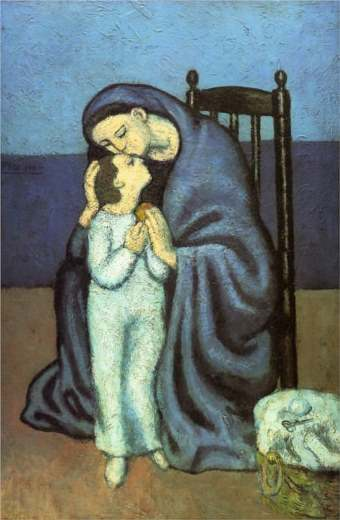Picasso mother-and-child 65%