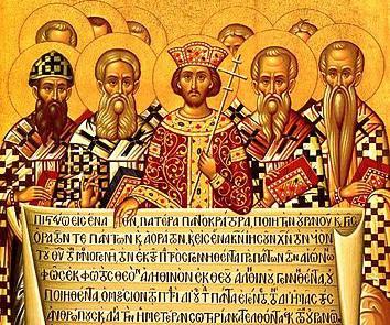 Council fo Nicea Icon