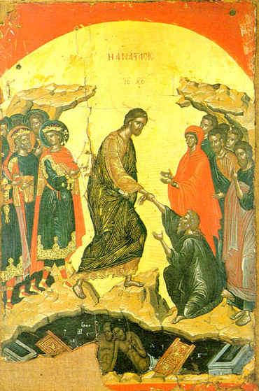 christ risen icon