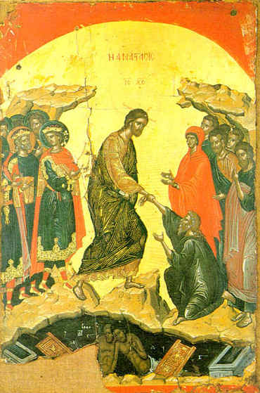 christ risen icon