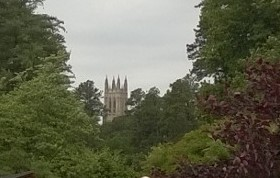 Duke Chapel from the Road