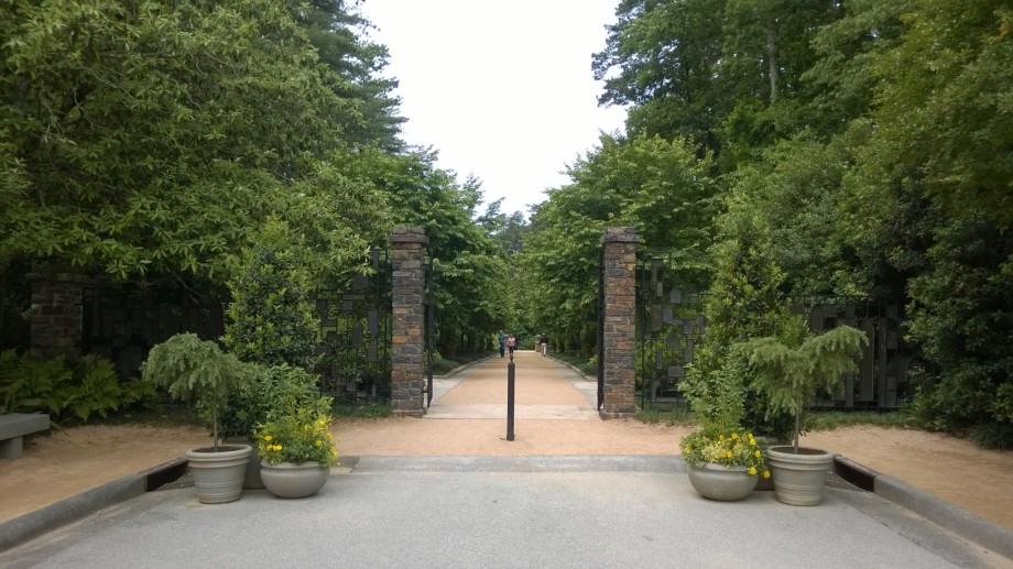 Duke Garden Entrance