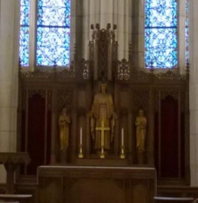 Memorial Chapel Altar Detail