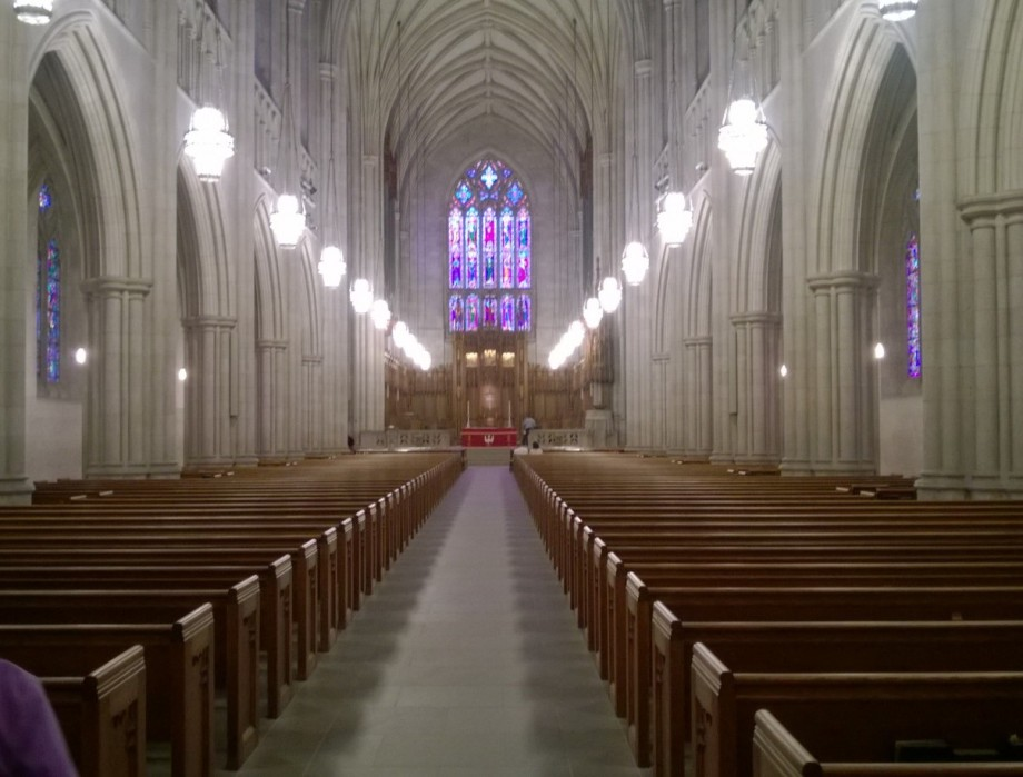 The Nave in Full Regalia