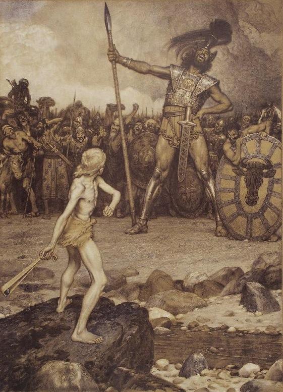 David and Golliath