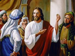 Jesus Teaches the Pharisees