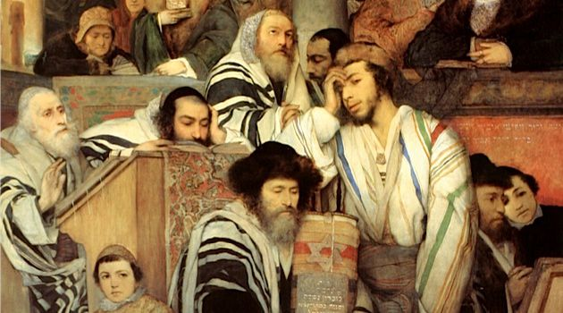 The Synagogue Praying
